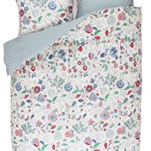 Hübsche Bettwäsche aus Perkal - weiß 135x200 von PiP Studio