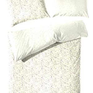 Kuschelige Bettwäsche aus Renforcé - gelb 135x200 von Primera