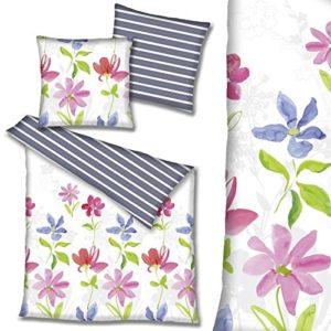 Schöne Bettwäsche aus Renforcé - weiß 200x200 von Hahn