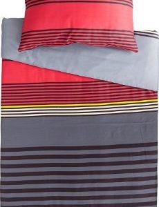 Hübsche Bettwäsche aus Satin - grau 200x220 von Erwin Müller
