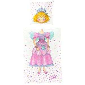 Schöne Bettwäsche aus Satin - Prinzessin rosa 135x200 von Bierbaum