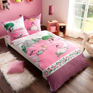 Traumhafte Bettwäsche aus Mako-Satin - rosa 135x200 von Kaeppel