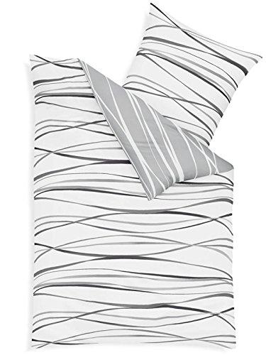 traumhafte bettw sche aus biber grau 200x200 von kaeppel bettw sche. Black Bedroom Furniture Sets. Home Design Ideas