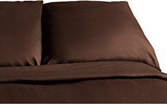 Traumhafte Bettwäsche aus Flanell - braun 155x220 von Carpe Sonno