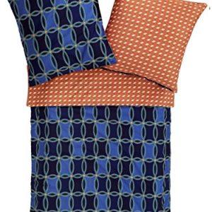 Hübsche Bettwäsche aus Mako-Satin - 135x200 von Zucchi