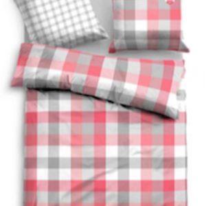 Kuschelige Bettwäsche aus Satin - weiß 135x200 von TOM TAILOR