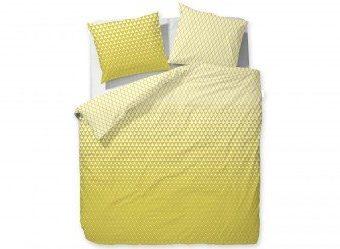 Hübsche Bettwäsche aus Baumwolle - gelb 135x200 von ESPRIT