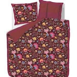 Schöne Bettwäsche aus Baumwolle - rot 135x200 von PiP