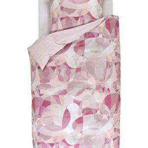 Kuschelige Bettwäsche aus Baumwollsatin - rosa 135x200 von ESPRIT