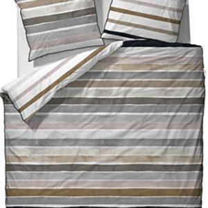Hübsche Bettwäsche aus Mako-Satin - von ESPRIT