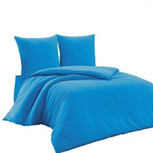 Traumhafte Bettwäsche aus Renforcé - türkis 200x200 von Elit Home Collection