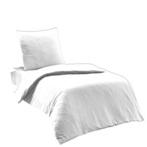 Kuschelige Bettwäsche aus Renforcé - weiß 135x200 von Elit Home Collection