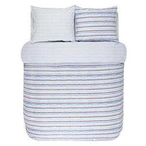 Traumhafte Bettwäsche aus Satin - blau 200x200 von Marc O'Polo