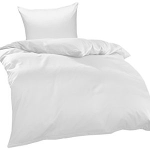 Schöne Bettwäsche aus Jersey - braun 135x200 von Bettwaesche-mit-Stil