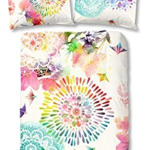 Kuschelige Bettwäsche aus Satin - 155x220 von HIP