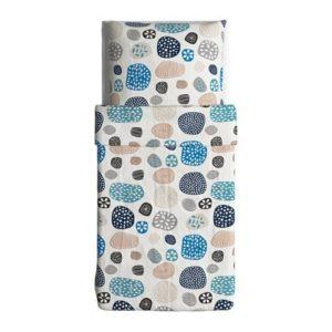 Hübsche Bettwäsche aus Baumwolle - 140x200 von Ikea
