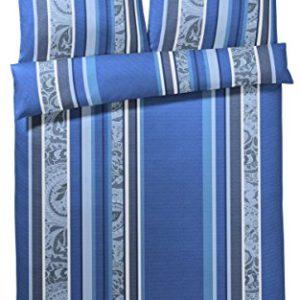 Schöne Bettwäsche aus Baumwolle - blau 135x200 von Joop!