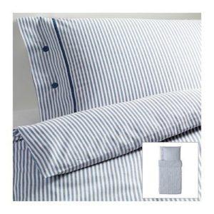 Schöne Bettwäsche aus Baumwolle - blau von Ikea