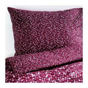Traumhafte Bettwäsche aus Baumwolle - rosa 220x240 von Ikea