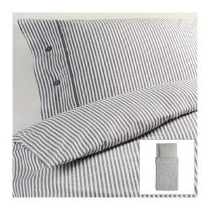 Hübsche Bettwäsche - weiß 155x200 von Ikea