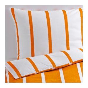 Hübsche Bettwäsche - weiß 220x240 von Ikea