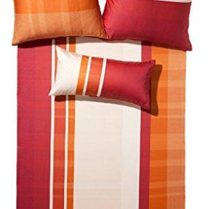 Schöne Bettwäsche aus Jersey - rot 135x200 von Erwin Müller