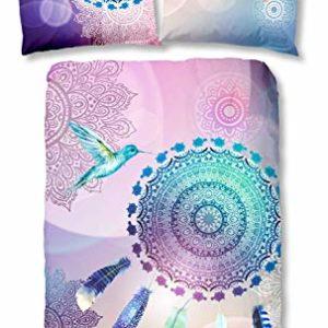 Traumhafte Bettwäsche aus Satin - 155x220 von HIP