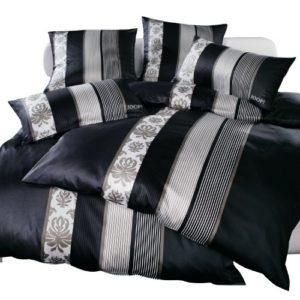 Kuschelige Bettwäsche aus Satin - schwarz 200x200 von Joop