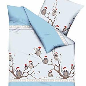 Traumhafte Bettwäsche aus Biber - braun 135x200 von Kaeppel