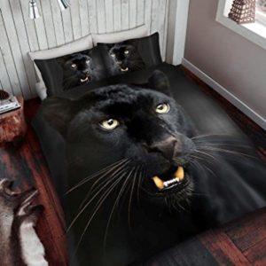 Schöne Bettwäsche aus Polyester - schwarz 200x200 von Nightzone