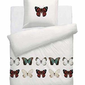 Traumhafte Bettwäsche aus Renforcé - weiß 135x200 von HNL