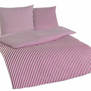 Traumhafte Bettwäsche aus Renforcé - weiß 155x220 von Rally Fashion