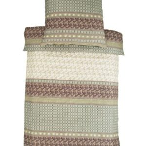 Kuschelige Bettwäsche aus Satin - grau 135x200 von Bassetti