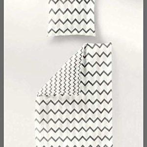 Traumhafte Bettwäsche aus Seersucker - grau 135x200 von Bierbaum