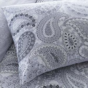 Hübsche Bettwäsche aus Polyester - grau 135x200 von Pieridae