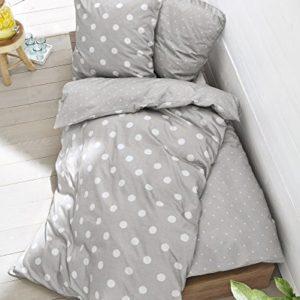 Kuschelige Bettwäsche aus Renforcé - grau 135x200 von s.Oliver