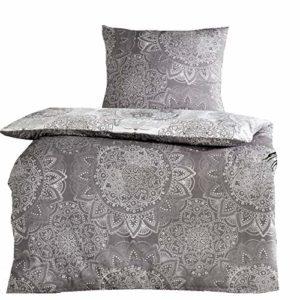 Kuschelige Bettwäsche aus Renforcé - rot 135x200 von Protex