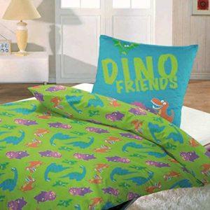 Schöne Bettwäsche aus Renforcé - türkis 135x200 von WOMETO