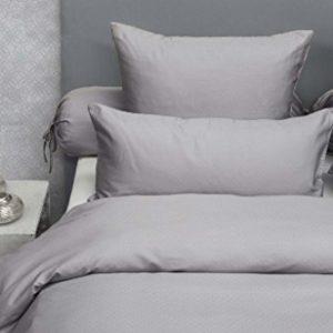 Kuschelige Bettwäsche aus Baumwolle - grau 200x200 von HNL