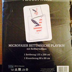 Schöne Bettwäsche aus Microfaser - 135x200 von Playboy