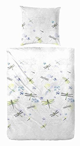Kuschelige Bettwäsche aus Perkal - weiß 135x200 von Primera