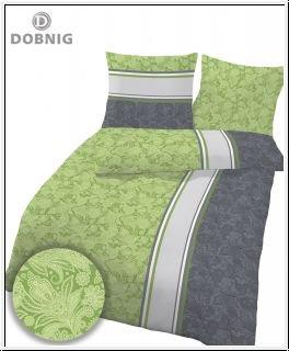Schöne Bettwäsche aus Biber - grün 200x200 von Ido