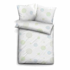 Traumhafte Bettwäsche aus Biber - weiß 135x200 von Castell