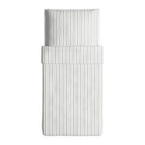 Schöne Bettwäsche aus Baumwolle - grau 140x200 von Ikea