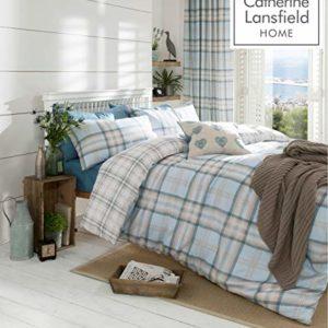 Hübsche Bettwäsche aus Baumwolle - grau 200x200 von Catherine Lansfield