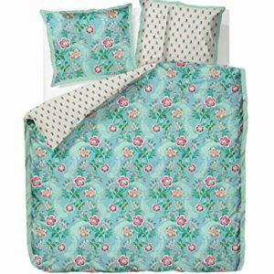 Kuschelige Bettwäsche aus Perkal - blau 155x220 von PiP Studio