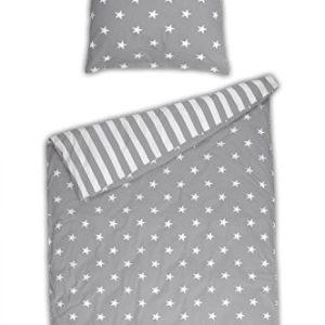 Hübsche Bettwäsche aus Renforcé - Sterne 135x200 von Schiesser