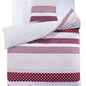 Schöne Bettwäsche aus Renforcé - weiß 155x220 von DecoKing