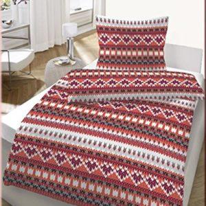 Traumhafte Bettwäsche aus Fleece - weiß 135x200 von Ido