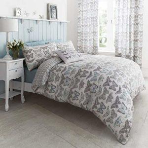 Traumhafte Bettwäsche aus Polyester - blau 135x200 von Dekoria